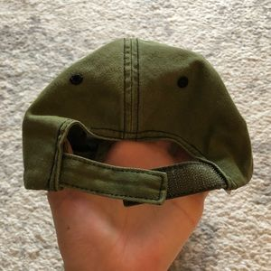 Accessories - Drab green military-style USA Youth hat